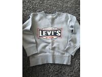2 x Levi's boys jumpers age 6 years