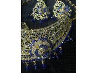 Blue jewellery set