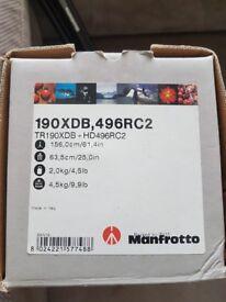 Manfrotto tripod camera tripod
