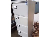 4 drawer office metal Grey filing cabinets / 4 drawer filing cabinets