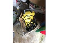 Karcher k2 compact pressure washer and karcher hose