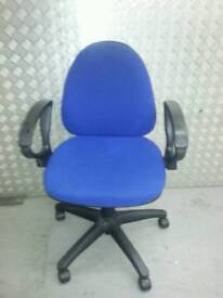 Office chair with adjustable levels