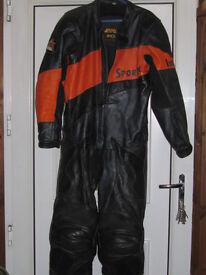 Mens Imola Sportex full racing leathers