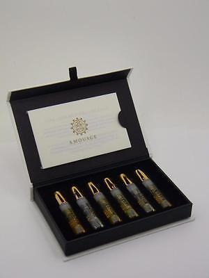 Amouage Opus Library Collection Eau de Parfum Vial Sample Spray Set 6 x 2ml