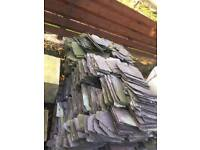 Two Large Pallets Of Slates