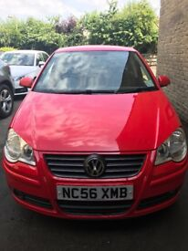 VW Polo 1.2 S 5dr Red A/C Very good condition