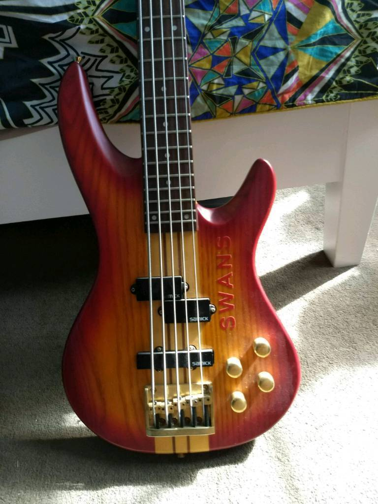 samick 5 string bass | in east london, london | gumtree pull string light wiring diagram samick 5 string bass wiring