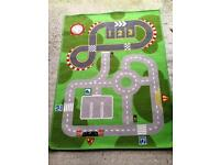 City/circuit mat for cars