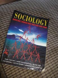 Sociology in Focus textbook