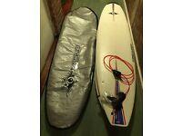 7'9'' Malibu Bic surfboard