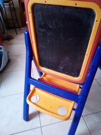 Blackboard + Whiteboard with Stand