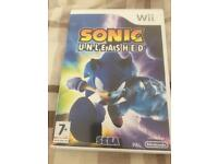 Wii Sonic unleashed