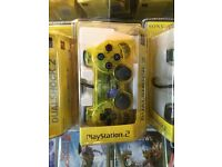 PS2 Dual Shock Controller - Yellow