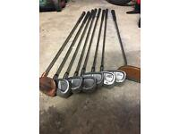 Perfect set of beginners golf clubs