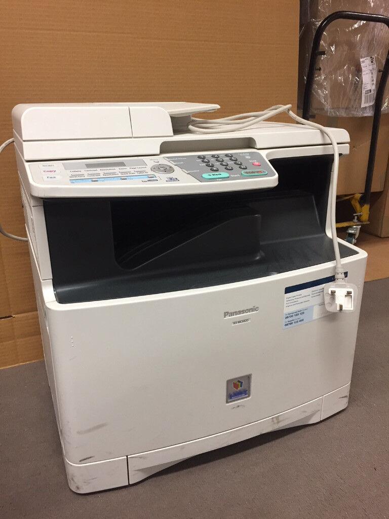 panasonic kx mc6020 mf colour laser printer print scan copy fax free