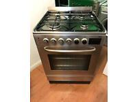 60cm Indesit dual fuel cooker