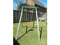 Little Tikes wooden swing