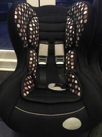 2x Babystart Group 1 car seats
