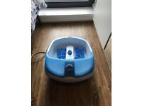 Visiq bubble foot spa for collection only