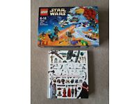 STAR WARS: THE VISUAL ENCYCLOPEDIA (HARDBACK) & LEGO STAR WARS CALENDAR
