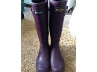 Barbour wellies