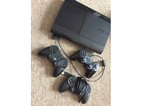 PlayStation 3 with 9 games