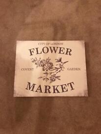 Canvas Flower Market
