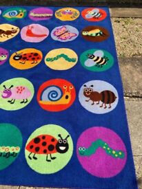 Classroom Placemat Rug for 30 Children!