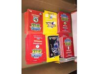 Match attax and shoot out cards