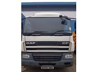 DAF CF 18t WHITE BOX, TAIL LIFT, DIRECT FROM HAULIER,