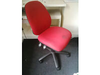 Red computer/office chair