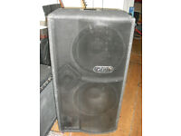 Tech soundsystems Tecamp 2x15 Neodynamic 215S Bass guitar speaker cabinet neo cab 2 15""