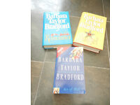 3 books by Barbara Taylor Bradford