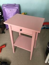 Ikea pink bedside unit (price reduced)