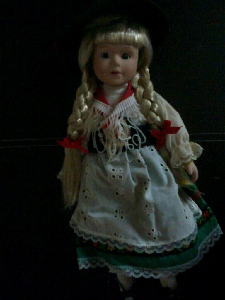 Handmade porcelain doll