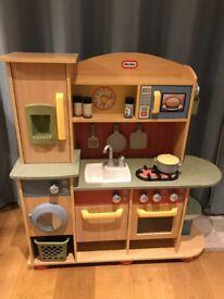 Little tykes wooden kitchen