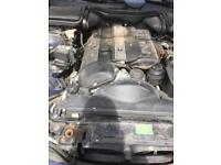 BMW 520i engine and gearbox and ancillary parts