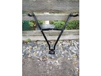 Towbar mounted cycle carrier