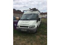 05 transit van no tax or mot drives £500