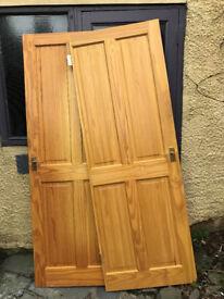 FREE - 2 Pine Doors