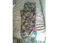 Women's joe brown camouflage trousers size 12