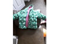 Baby coats 6-9/9-12 months