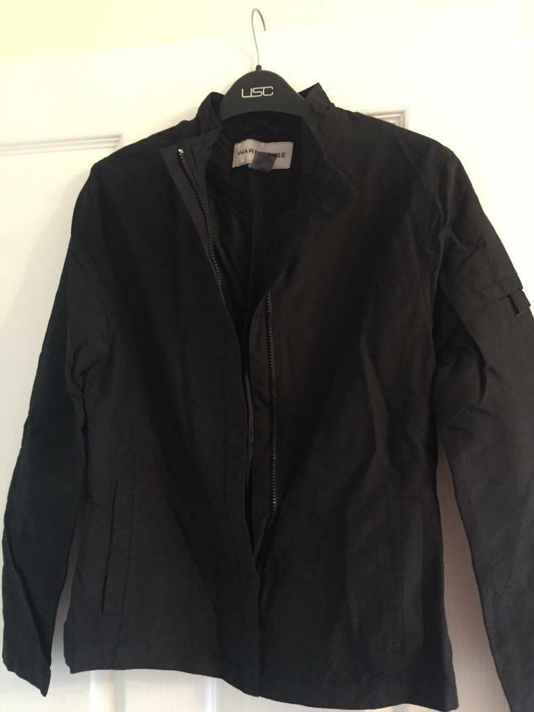 Warehouse black jacket