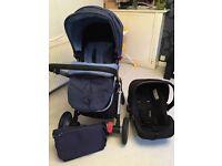 Mothercare Roam travel system- Blue