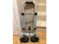 Folding trolley for caravan camping ect