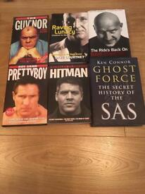 Dave Courtney, Lenny McLean, gangster books