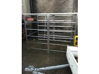 GALVANISED SHELVING STANDS - CHEAP