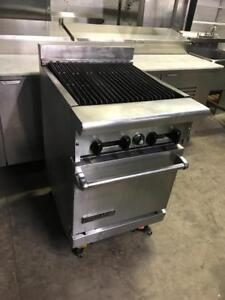 24 gas imperial Charboiler / radiant grill with oven under neath ( rare to find ) for only $1895! ( retails $4899++ )