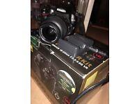 Nikon D5000 boxed with camera bag