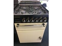 LEISURE 50CM ALL GAS COOKER IN CREAM